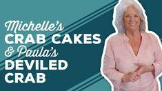 Crab Cakes, Deviled Crab Recipe, Kitchen Aid Recipes, Crab Recipes, Cornmeal Dumplings, Paula Deen, Turnip Greens, Crab Meat