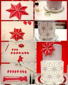 http://flourconfections.blogspot.ca/2012/11/starburst-cake-design-tutorial.html