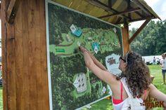 En Route; dé route, die je langs alle creatieve programma's op A Day at the Park 2014 leidde!