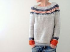 Ravelry: Ingrid Pullover pattern by Isabell Kraemer: