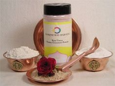 Rose Ubtan - Cleanser and Exfoliate - 8oz. (WS) by Diamond Way Ayurveda. $27.00. Ubtans are powders that can be used dry or mixed with milk or water to form pastes. They can be used as an excellent cleanser that removes massage oils from the face or body and/or as a mild exfoliant. Our rose ubtan is a blend of barley and oat flours, with calamus, and powdered red rose petals.