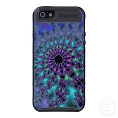 Customizable Peacock Fractal iPhone 5 Skinit Case going for $49.95. Check out this product at www.zazzle.com/wonderart*