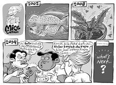Mice Cartoon, Kompas 14 Desember 2014: Dari Lou Han Sampai Akik... What's Next?