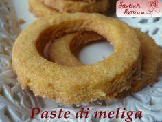 paste di meliga ou paste d'melia  à la polenta (PIémont)