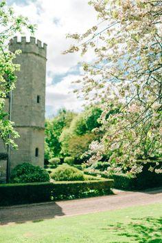 The turret at Notley Abbey #BijouRealWedding #NotleyAbbey