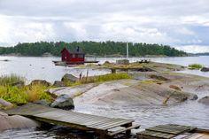Hinaus in den Schärengarten von Västervik. Aber nicht mit irgendeinem Boot. Wir fahren mit Kapitän Bengt. Dreimal wöchentlich steuert er mit seinem Postboot