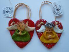 Anjeliky- slané cesto Christmas Ornaments, Holiday Decor, Home Decor, Xmas Ornaments, Homemade Home Decor, Christmas Jewelry, Christmas Baubles, Decoration Home, Interior Decorating
