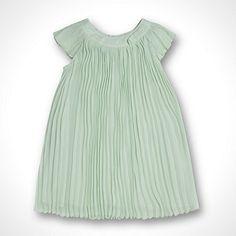 d5fde749f Baker by Ted Baker Baby s light green pleated dress- at Debenhams.com