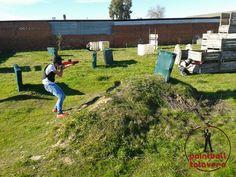 ¡La batalla está servida! Ningún obstáculo detuvo a este grupo de jóvenes amigos de Paintball Talavera.   Más en http://paintballtalavera.com