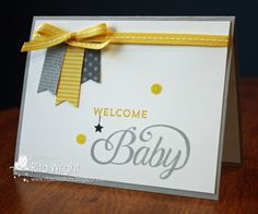 Rita's Creations: Stampin' Up! Celebrate Baby