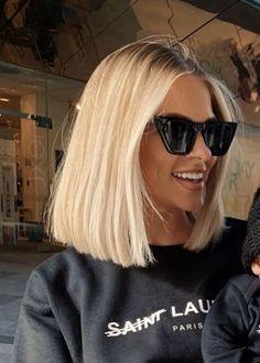 Cut My Hair, Big Hair, Hair Cuts, Medium Hair Styles, Short Hair Styles, Blonde Hair Inspiration, Blonde Hair Looks, Hair Trends, Aesthetic Hair
