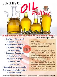 Benefits of Oil Pulling ~ Back Pain Remedies, Home Remedies, Herbal Remedies, Health Tips, Health And Wellness, Wellness Fitness, Health Foods, Physical Fitness, Health Fitness