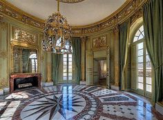 Interior of the French Pavillion at the Petit Trianon