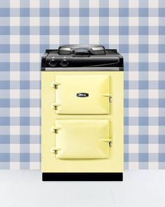 At only 24 inches wide, this sunny cast-iron number packs in all the charm of a vintage stove without a bulky frame. Bonus: Individually heated oven units maximize your cook space. (City 24, Available in 15 colors. From $8,199; aga-ranges.com)