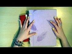 Friendship Journals video by Jennibellie - love this idea. Kind of like snail mail but in a book :)
