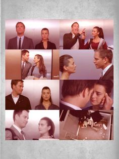Tony + Ziva + The elevator