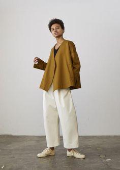 Cencio Jacket In Carob - Studio Nicholson
