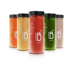 """ TO BAZAKI"" Juice Bar – Design Identity on Packaging Design Served"