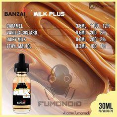 Banzai, Milk Plus