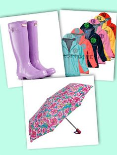 College Essentials - Cute rain gear to dress for the weather! FOR COLLEGE