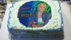 Krissa's Austin and Ally birthday cake.
