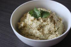 Homemade Cilantro-Jalapeno Hummus | A Hoppy Medium
