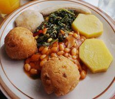 Jamaican In-Room Breakfast :)