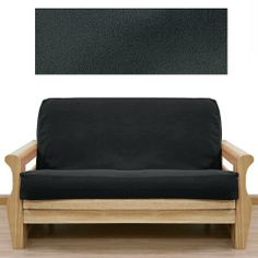 Ultra Suede Black Futon Cover Queen 5pc Pillow Set 638 By Slipcover 169 00 See