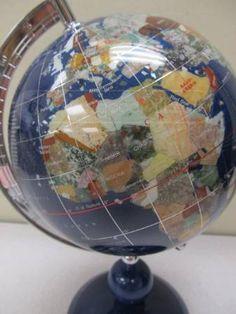 Gemstone World Map.25 Best Gemstone World Globes Images World Globes Gem Maps