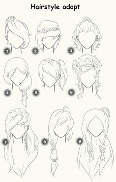 Cut Take Text Nullipara Girls Hairstyles How To Draw Manga Anime . - Cut Take Text Nullipara Girls Hairstyles How To Draw Manga Anime Hair # - Drawing Techniques, Drawing Tips, Painting & Drawing, Drawing Ideas, Hair Styles Drawing, Hair Styles Anime, Drawing Style, Drawing Drawing, Anime Drawing Tutorials