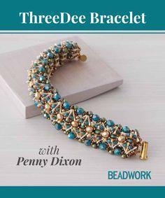 ThreeDee Bracelet Video Download with Penny Dixon | InterweaveStore.com