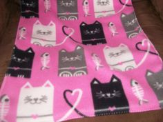 Reversible Cat Carrier Blanket by smoyercathy on Etsy