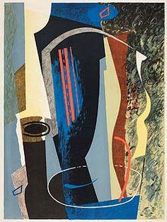 Abstract Composition, 1936 by John Piper © The Piper Estate / DACS/Artimage Photo: Luke Piper John Piper Artist, Cuban Art, Elements Of Art, Gravure, Gouache, Painting & Drawing, Art Gallery, Sculpture, Fine Art