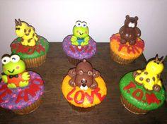 Muffins personalizados amor y amistad