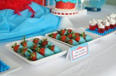 Dr. Suess Party food