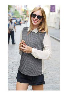 Aliexpress.com : Buy women t shirt spring 2014 new European and American women's long sleeve base shirt Slim lapel chiffon shirt women's shirt tide on Beauty Town.