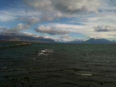 Windy day in Puerto Natales, #Chile | #Patagonia