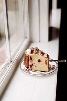 In the Kitchen With: Tara O'Brady's Cranberry Ginger Cake | Design*Sponge | Bloglovin'