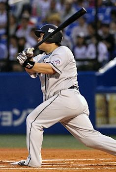 Takeya Nakamura homered in the 10th - his 12th long ball this season -  to lift the Lions over the Swallows on Sunday, June 10, 2012.