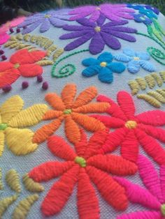 Embroidery Tutorial Sashiko Ideas For 2019 Etsy Embroidery, Mexican Embroidery, Hand Embroidery Designs, Floral Embroidery, Cross Stitch Embroidery, Embroidery For Beginners, Embroidery Techniques, Bordado Floral, Christmas Embroidery Patterns