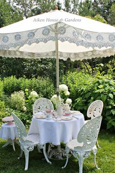 aiken house gardens garden relaxation - Garden Furniture Shabby Chic