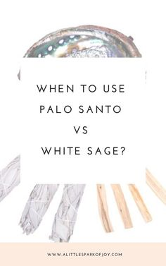 Palo Santo: Everything You Need to Know About the Wood of Saints Do you know when to use Palo Santo instead of White Sage? Read all about the power of these two plants and their specific burn and energy cleansing powers to increase positive vibes at home! Smudging Prayer, Sage Smudging, Spiritual Cleansing, Energy Cleansing, Burning Sage, Under Your Spell, Herbal Magic, Meditation, Smudge Sticks