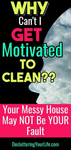 How To Get Motivated To Clean When Depressed & UN-Motivated (Cleaning Motivation. How To Get Motivated To Clean When Depressed & UN-Motivated (Cleaning Motivation! Deep Cleaning Tips, Car Cleaning, Cleaning Solutions, Spring Cleaning, Cleaning Hacks, Speed Cleaning, Cleaning Products, Organizing Hacks, Home Organization Hacks