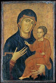Berlinghiero Madonna and Child 1228-1236 AD The Metropolitan Museum of Art website