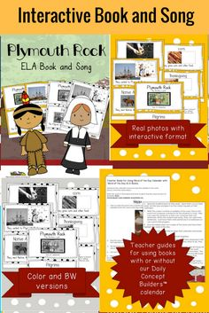 This cute WORD OF THE DAY THANKSGIVING in the PAST BOOK is perfect for teaching VOCABULARY. It is one of 5 books associated with our WORD OF THE DAY November calendar. Your kids can learn words like THANKSGIVING, PILGRIMS, NATIVE AMERICANS and CORN in a fun PIGGY BACK SONG format! We have also made these books interactive so they are great for teaching phonetic patterns. We have included a teacher guide with ideas. My kiddos have learned great vocabulary as well as phonetic principles.