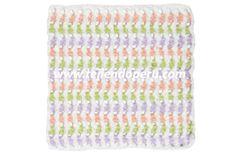 Cómo tejer el punto cobija o mantital a crochet!