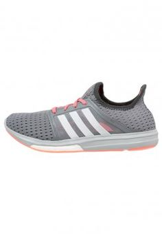 adidas Performance - CC SONIC BOOST - Matalavartiset tennarit - grey/white/flash red Avon, Adidas Sneakers, Shopping, Shoes, Grey, Fashion, Gray, Moda, Zapatos