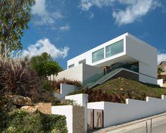 Вода дом: Esculpir Эль Айре лепить современного испанского жилья