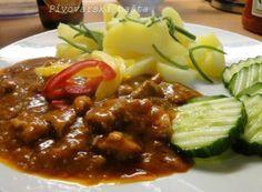 Recept Pivovarská bašta Meat Recipes, Appetizer Recipes, Chicken Recipes, Cooking Recipes, Czech Recipes, Ethnic Recipes, Good Food, Yummy Food, Bastilla