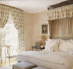 english country bedroom - Google Search